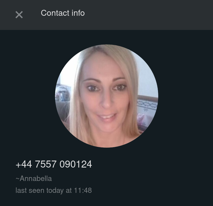 Scammer profile